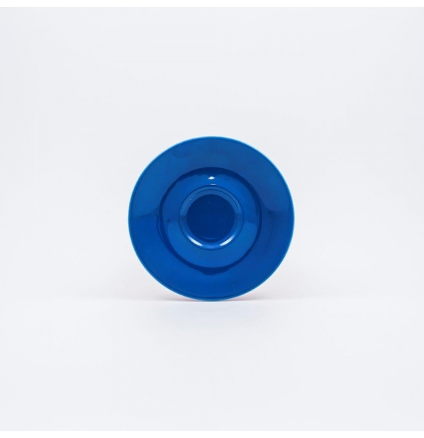 Coffee saucer blue