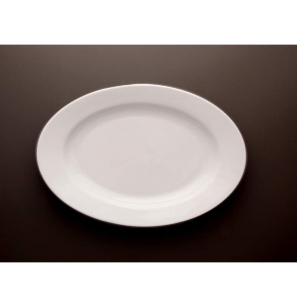 Plat oval