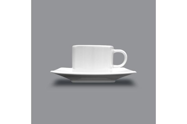 Tasse et sous tasse Ø 125mm