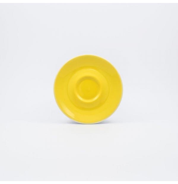 Sous tasse à Café couleur jaune