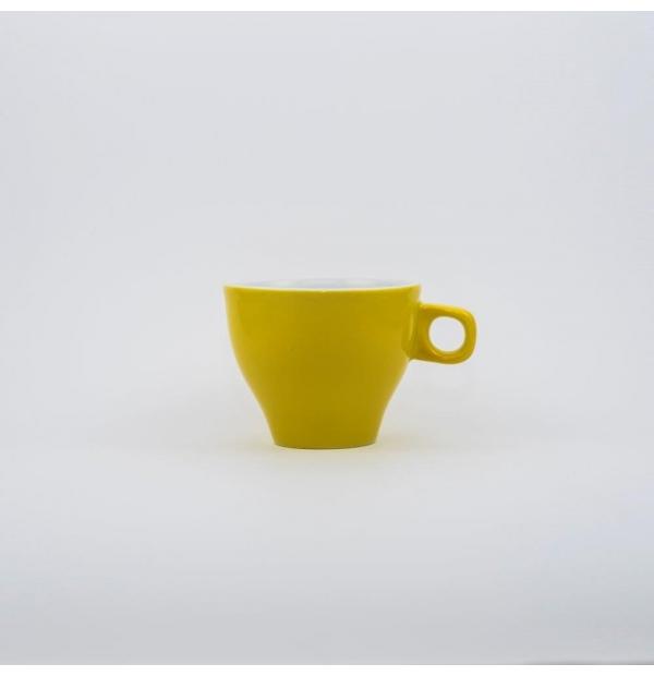 Tasse à Chocolat couleur jaune